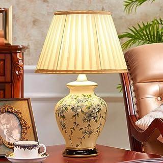 Lampe de Bureau en céramique Lampe de Chevet de Chambre à Coucher Lampe de Table Minimaliste Moderne créative Lampe de Mar...
