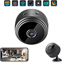 $36 » Mini Hidden Camera Spy Cam WiFi Small Wireless Full HD 1080P Video Camera with Night Vision Motion Sensor for iPhone Android Video Detection Security Nanny Surveillance Cam