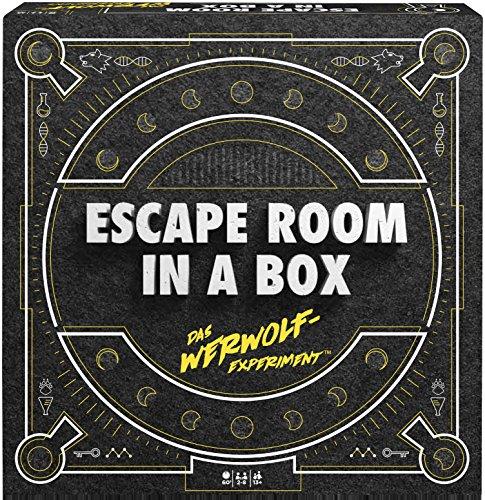 Mattel Games FWK72 – Escape Room In A Box Het Werwolf-experiment Strategiespel geschikt voor 2-8 spelers, speelduur onder 60 minuten, strategische games vanaf 13 jaar