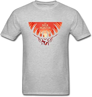 ZHENGXING Men's The Dear Hunter Rock Band Logo T-Shirt S ColorName Short Sleeve