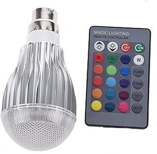 SGJFZD RGB LED Lamp 10W 85-265V B22 LED RGB LED Light Bulb 110V 120V 220V LED Soptlight Remote Control 16 Colors Changeabl...