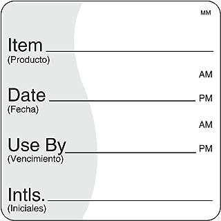 DayMark Removable Item/Date/Use-by Shelf-Life Label, 2