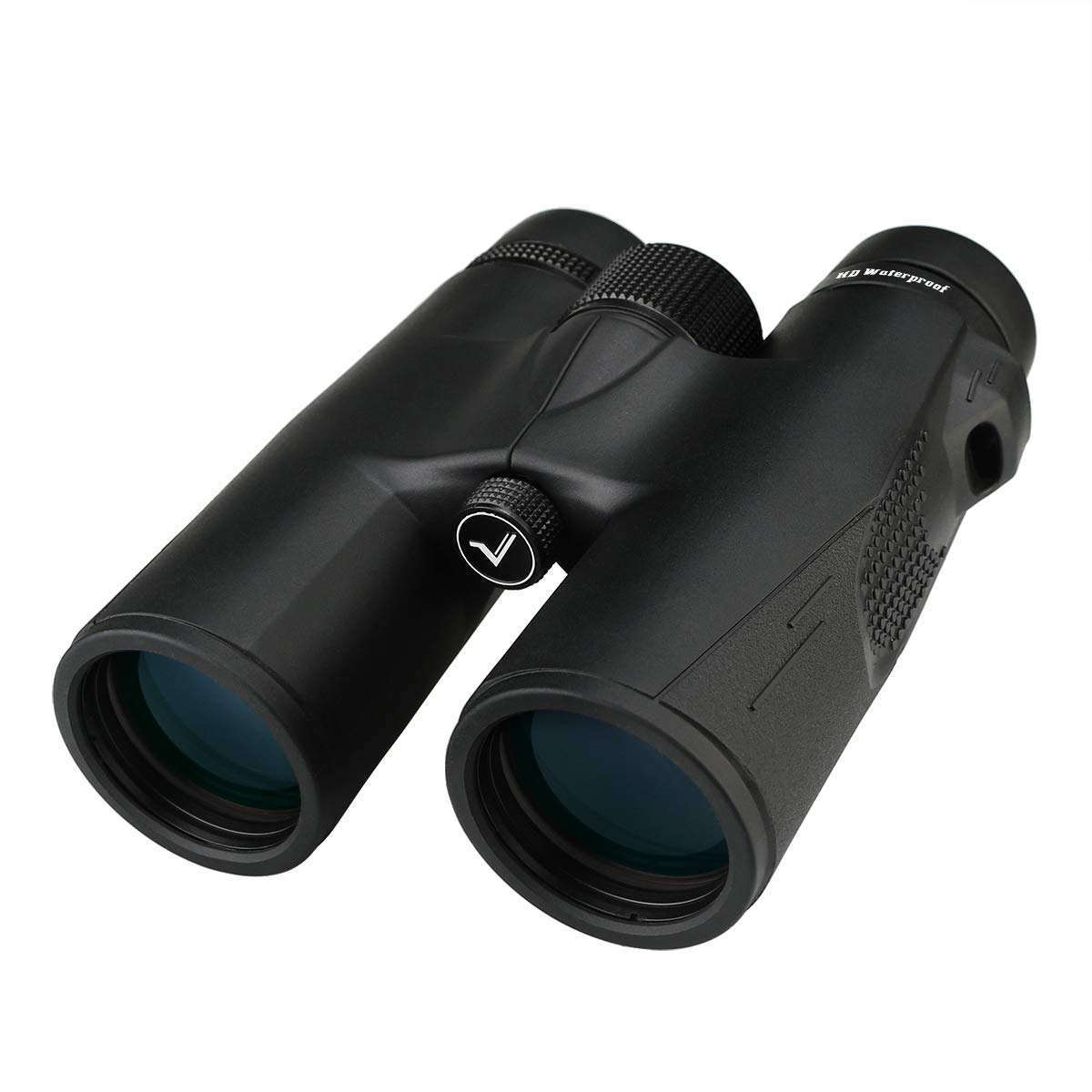 SVBONY SV47 Binoculars for Adults Hunting Gifts Binoculars for Men BAK4 Prism FMC Lens HD Professional Binoculars for Bird Watching Outdoor Sports Games and Concerts (10x42mm, Black)