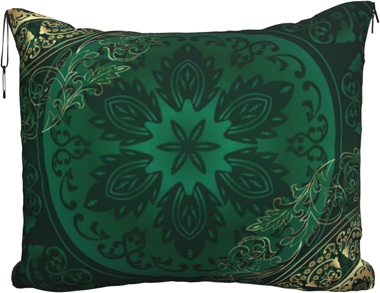 Mescchskgreen Vintage Floral Print Sacramento Mall Travel Max 81% OFF Pillow T Combo Blanket