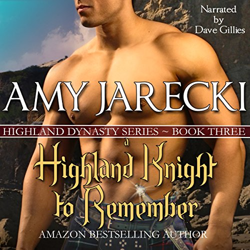 A Highland Knight to Remember audiobook cover art