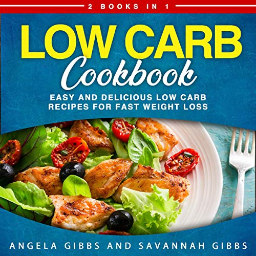 Low Carb Cookbook audiobook cover art