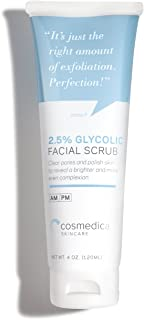 Cosmedica Glycolic Facial Scrub, 4 Ounce