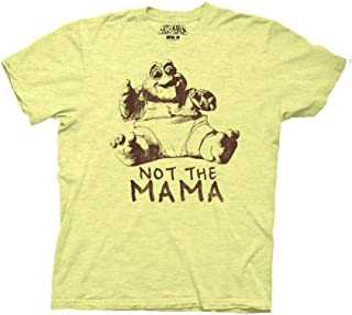 Ripple Junction Dinosaurs Adult Unisex Not The Mama 1 Color Heavy Weight 100% Cotton Crew T-Shirt