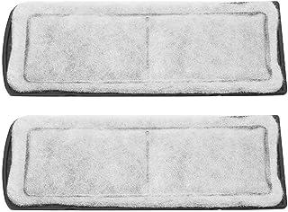 Pssopp Cartuchos de Filtro de carbón Activado para el Tanque de Peces de reemplazo del Filtro Interno de Bio-química para Acuario de Cristal para XP-05 09 ...