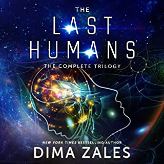 The Last Humans audiobook cover art