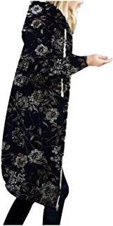Darringls Functionele damesjas herfstmode outdoorjassen stoffen jas lange winterjassen capuchon longblouses casual softshe...