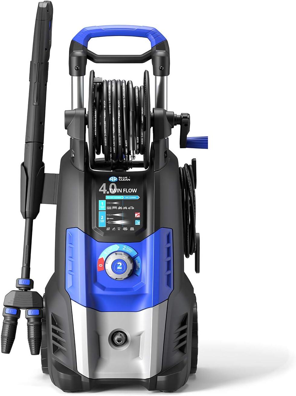 Annovi Reverberi 4.0 Twin Flow Hidrolimpiadora de Alta presión con Dualtech System (2500 W, 150 Bar, 810 l/h), Azul