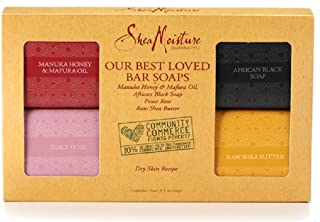 SheaMoisture Manuka Honey & Mafura Oil Our Best Loved Soap Set In Box