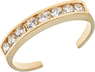 Best real gold toe rings Reviews