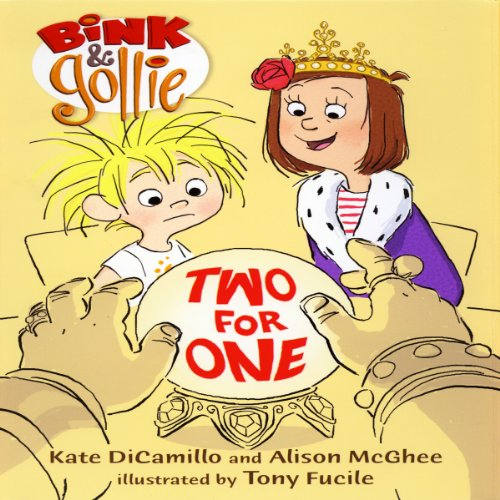 Bink & Gollie: Two for One audiobook cover art
