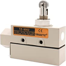 Baomain TZ-6 Sealed Limit Switch TZ-6002 Parallel Roller Plunger AC 250V 15A IP 65