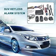 12V Car SUV Keyless Entry Engine Start SUV Keyless Alarm System Push Button Remote Starter Stop Auto Car Accessories Tool