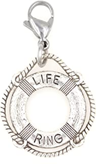 Its All About...You Bronze Moon Clip on Charm Perfect for Necklaces and Bracelets 94R