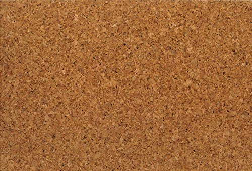1 m² Korkfußboden zum kleben, Korkboden Struktur fein, Klebekork vorversiegelt und vorgeleimt, Designkork zum kleben, Fußboden aus Kork zum kleben - Dorado natur