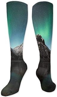 Calcetines de compresión para hombre y mujer – Mejores para correr, deportes atléticos, varices, viajes-aurora