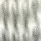Baumwollstoff Popeline kleines Hahnentritt grau weiß -