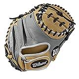 Wilson A2000 CM33 Pedroia Fit 33' Catcher's Baseball Mitt - Right Hand Throw