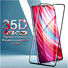 Zarala |for Mi Redmi 8 | Tempered Glass Screen Protector Guard | Full Glue Curved Tempered Glass | Bubble Free Installatio...