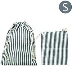 Ardorman Reise-Wäschesack, Baumwoll-Leinen-Tasche, Schmutzige Kleidung Tasche Mit Kordelzug, Tragbare Kordelzug Schuhe Tasche Für Reisen Hochzeit Home Party Supplies