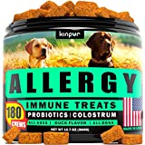 Effective Help: dogs may suffer from allergies: pets develop itchy skin, irritated eyes, sneezing, & runny nose. You, lovely pet owner, may help your dog by using our supplement for allergy recovery. Powerful Ingredients: apple cider vinegar & salmon...