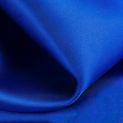 MUYUNXI Tela De Raso Forro De Tela para Vestidos De Novias Fundas Artesanías Vestidos Blusas Ropa Interior 150 Cm De Ancho Vendido por 2 Metro(Color:Azul Real)