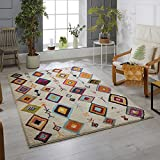 Rugs Direct 34027 Tapis, Polypropylène Heatset, Ivoire, 160 x 230 cm