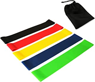 Resistance Loop Exercise Bands, Resistance Exercise Bands for Home Fitness, Rehab, Stretching, Strength Training, Physical...