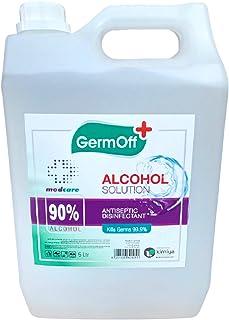 GermOff 90% isopropyl alcohol solution 5 Ltr