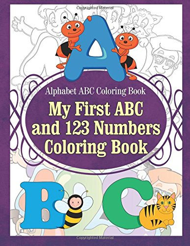 Easy You Simply Klick Alphabet ABC Coloring Book My First And 123 Numbers Download Link On This Page Will Be Directed To The