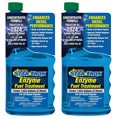 2-Pack Star Tron Enzyme Fuel Treatment Super Concentrated Diesel Formula 32oz