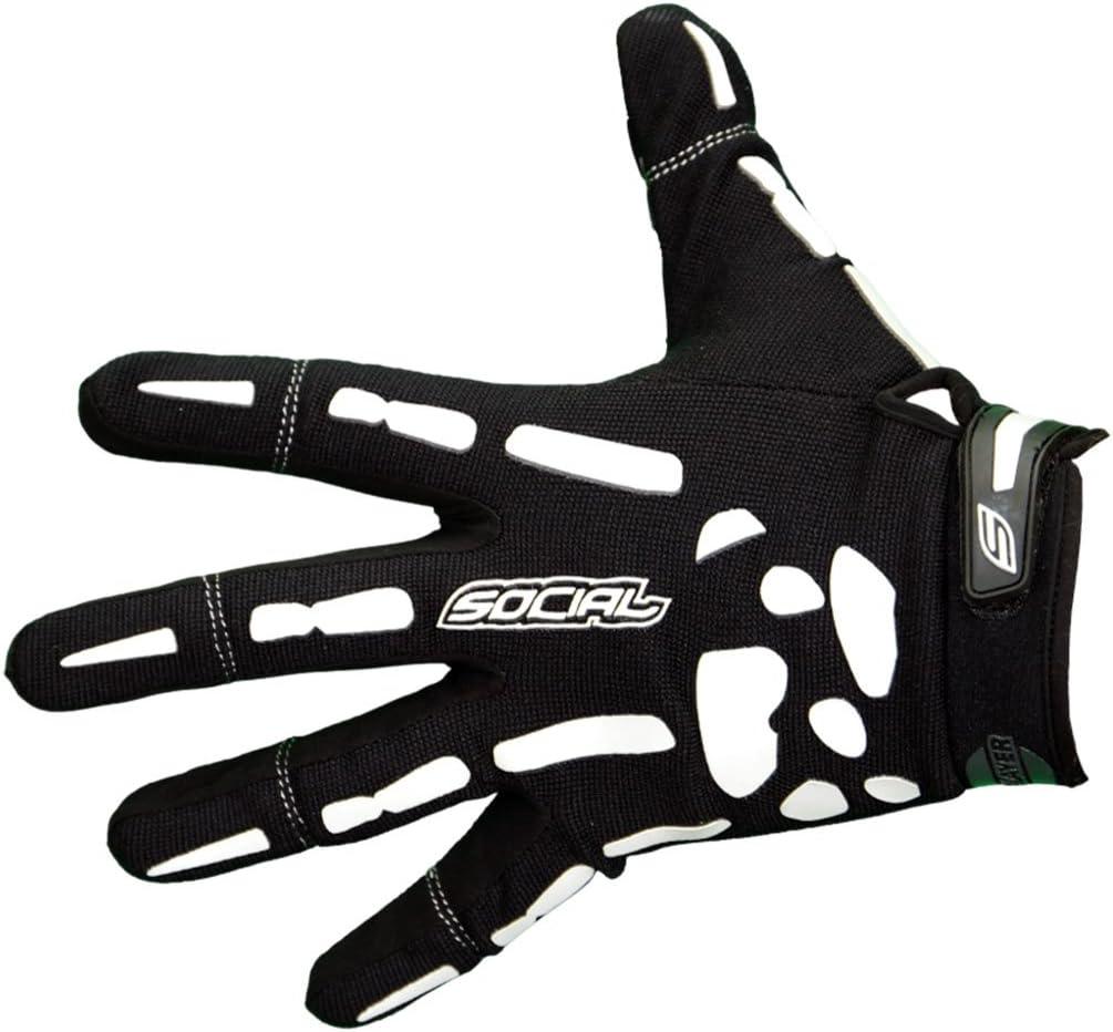 Social Paintball Grit Gloves, Skeleton Bones