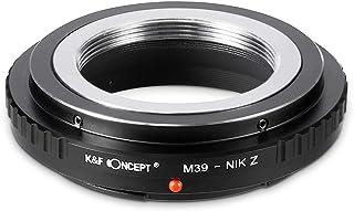 K&F Concept レンズマウントアダプター ニコンZシリーズ (ライカL39マウント)