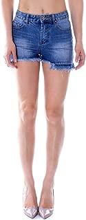 ONE.0 Luxury Fashion Womens A091BBLUE Blue Shorts   Fall Winter 19