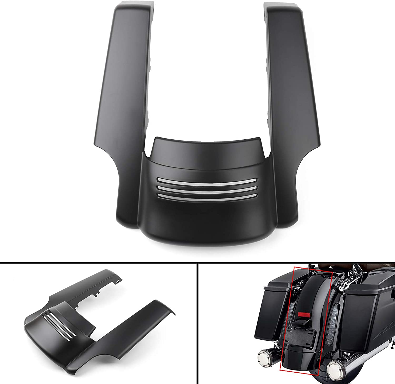 Artudatech Stretched Ranking TOP3 Ranking TOP20 Rear Fender Extension St Touring For Harley