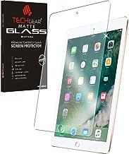 TECHGEAR iPad Air 9,7, Air 2, iPad 9.7 2018 2017 Matt Panzerglas - Matte Blendschutz Panzerglas Auflage, Original-gehärtetes Glas-Displayschutzfolie kompatibel mit iPad 9,7 2018, Air 9,7, iPad 6