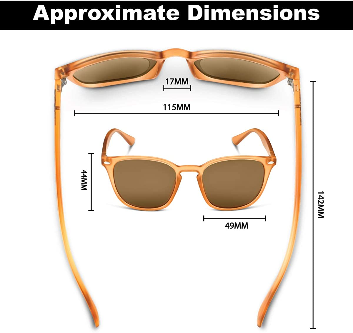 Flying Fisherman Muriel Polarized Sunglasses with AcuTint UV Blocker for Fishing and Outdoor Sports