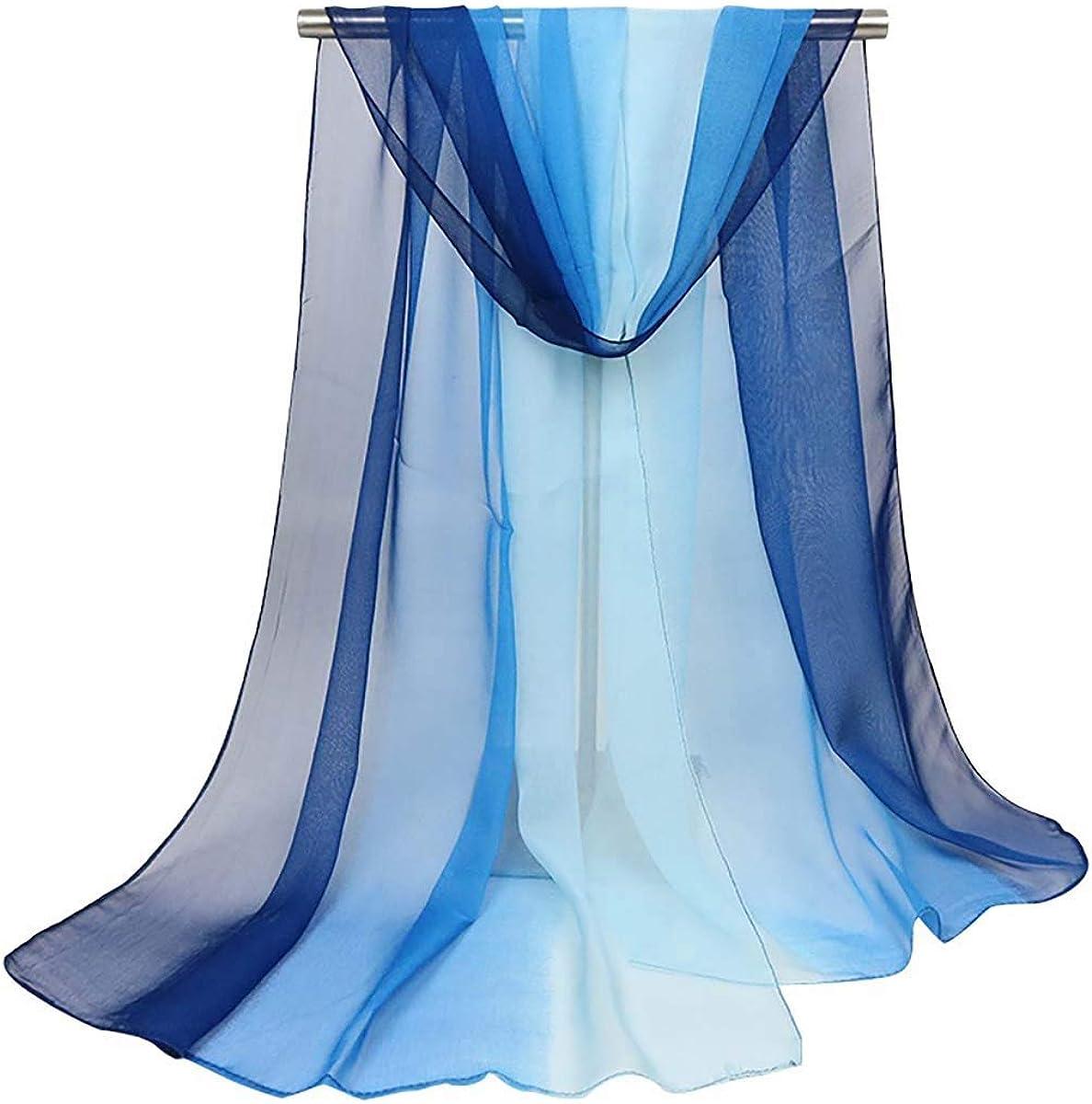 Acotavie Women's Scarf Fashion Pattern Long Lightweight Sunscreen Shawls Scarves