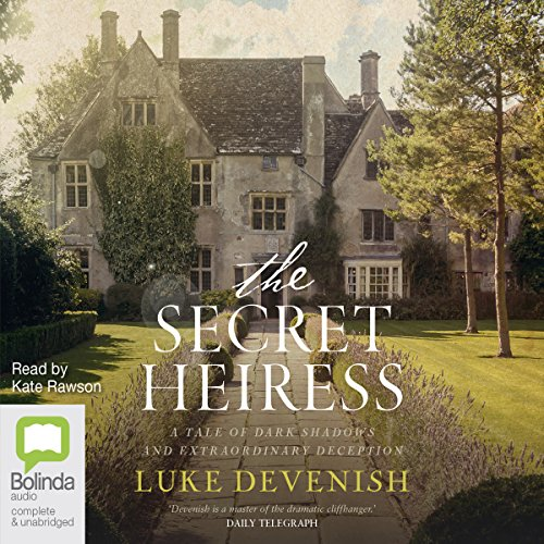 The Secret Heiress audiobook cover art