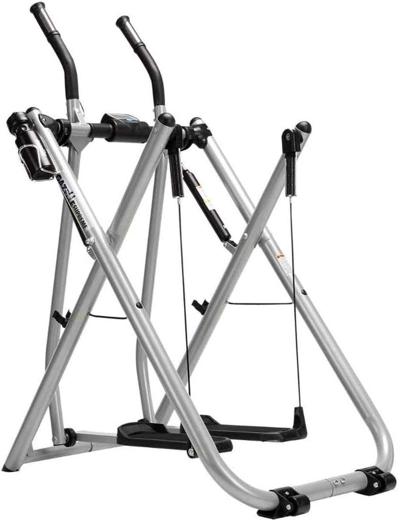 Gazelle Supreme Glider Home Workout & Fitness Machine with Instructional DVDs
