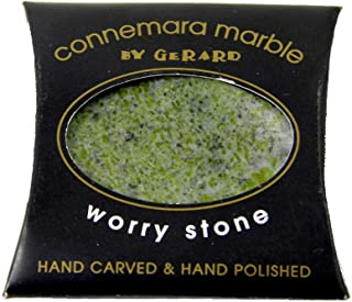 Connemara Marble Hand Carved Worry Stone