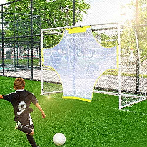 MOCOHANA Soccer Goal Target Nets Football Training Net Portable Soccer Net Practice Shooting Goal Shots 9.7ft x 5.9ft