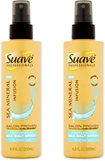 Suave Sea Mineral Salt Spray 6.8 Ounces (Pack of 2)