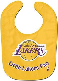 WinCraft NBA Los Angeles Lakers WCRA2059914 All Pro Baby Bib