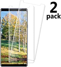 [2 Pack] Note 9 Tempered Glass Screen Protector Compatible with Samsung Galaxy Note 9 [HD Clear] [Anti-Bubble] [9H Hardness] [Anti-Scratch] [Anti-Fingerprint] [1]
