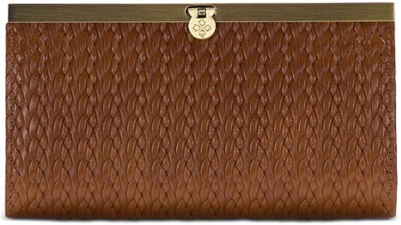 Patricia Nash Cauchy Woven Tan Wallet